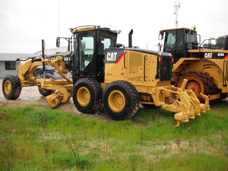 Greder Caterpillar 140M Romania
