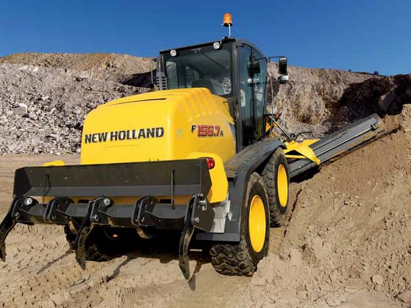 Greder New Holland F156 second hand